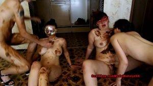 Scatshop - ModelNatalya94 - Dirty Lesbian Show From Three Girls - Scatmob.Com 00001