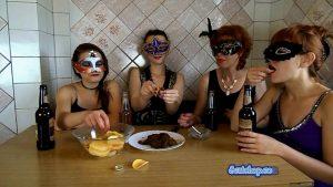 Scatshop - ModelNatalya94 - The Morning Breakfast The Four Girls - Scatmob.Com 00001