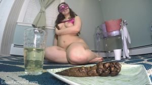 LoveRachelle2 - Piss & Shit Meal Just For You - 4K-2160p 00002