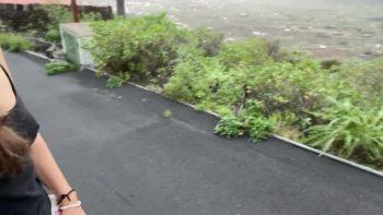 VeganLinda - Big Morning Shit On Public Street - Scatmob.Com 00002